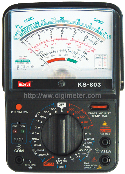 Analog Power Meter : Huayi professional manufacturer of digital multimeter